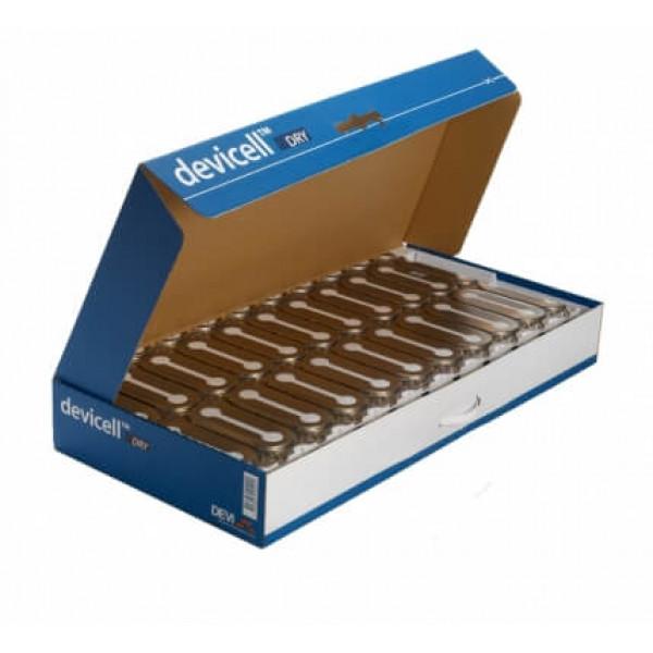 Монтажные теплоизолирующие пластины DEVlcell 5 м.кв., 10 пластин, 100 Вт/м2 макс.
